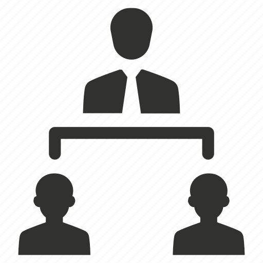 hierarchy, management, network, structure icon