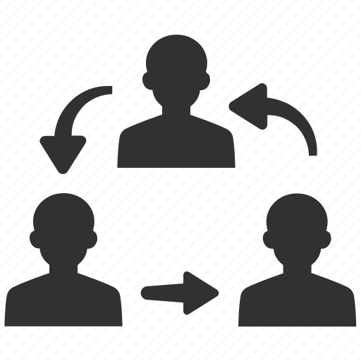 communication, group, management, teamwork icon