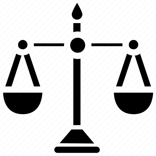 Balance, justice concept, libra sign, measuring instrument, weight scale icon - Download on Iconfinder