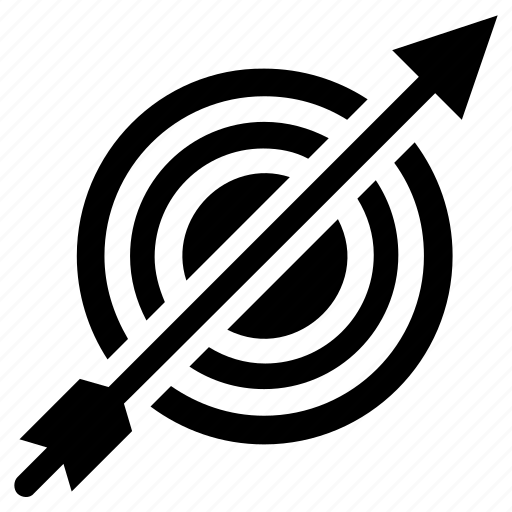 Business goals, market target, target, target arrow, target board icon - Download on Iconfinder