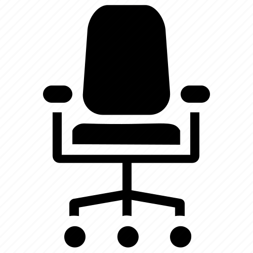 Corporate chair, director chair, manager chair, office chair, swivel chair icon - Download on Iconfinder