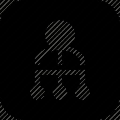 algorithm, head, hr, managemnet, manager, project icon