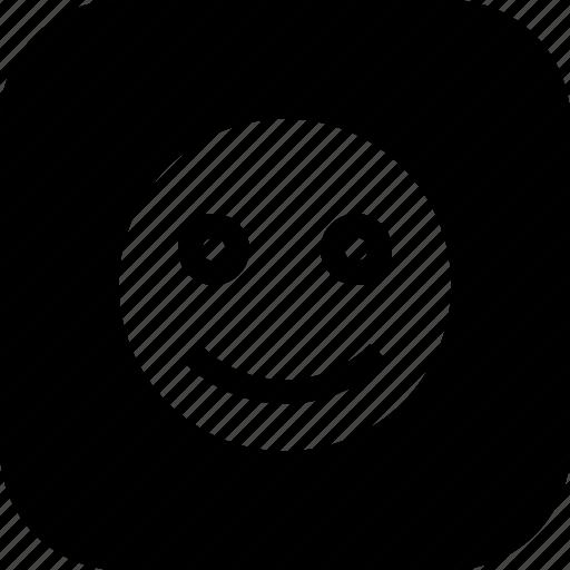 emoji, fresh, happiness, happy, sign, smile, smiley icon