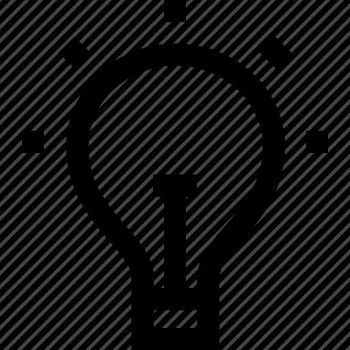 bulb, creative, creativity, energy, idea, light icon