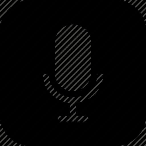audio, mic, record, recorder, speaker, vocal icon