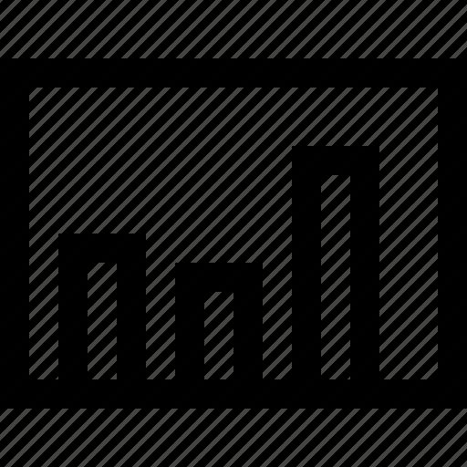analysis, analytics, chart, column, data, graph, statics icon
