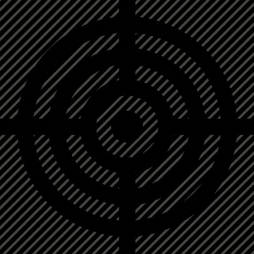 aim, bullseye, dart, illusion, strategy, target icon