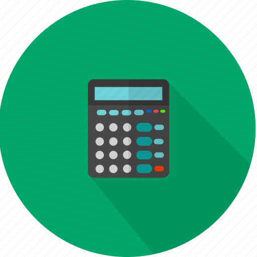 business, calculator, math icon