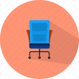 business, chair, office icon