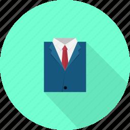 business, coat, wear icon