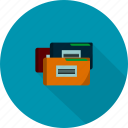 business, documents, file icon