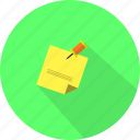 business, draft, memo, note icon