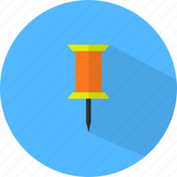 marker, pin icon