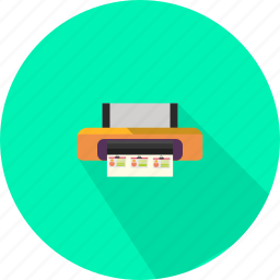 business, device, office, printer icon