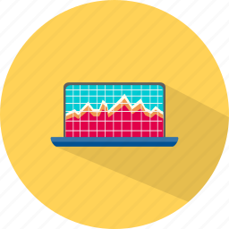 business, chart, graph, statistik icon