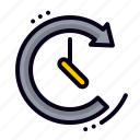 clock, deadline, stopwatch, time, timer icon