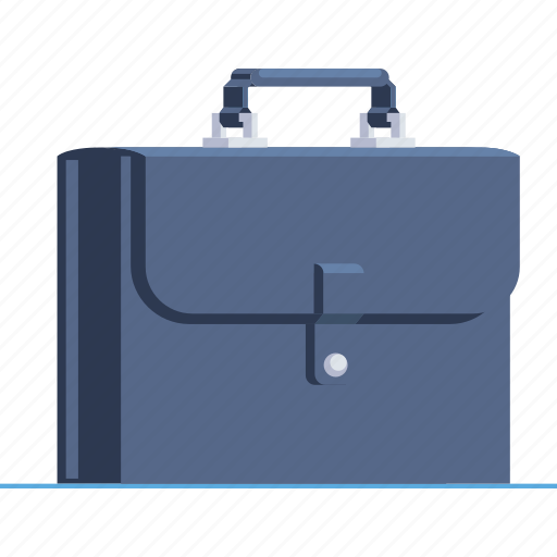 bag, baggage, briefcase, holding, luggage, office, suitcase icon