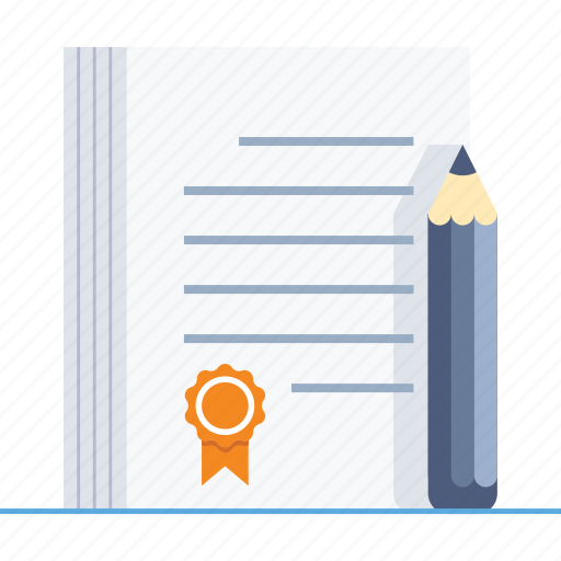 agreement, contract, deal, document, legal, paper, pencil icon
