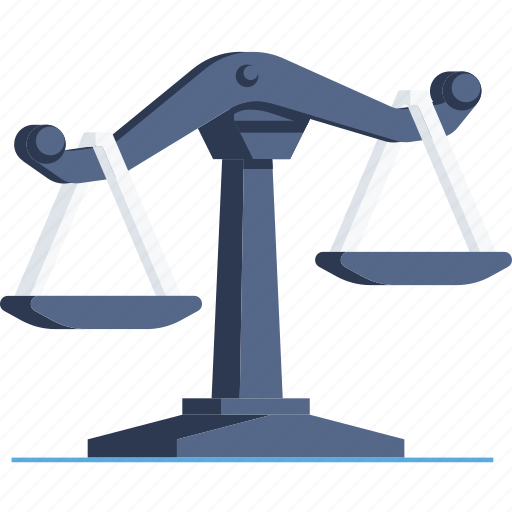 balance, court, decision, justice, scale, scales icon