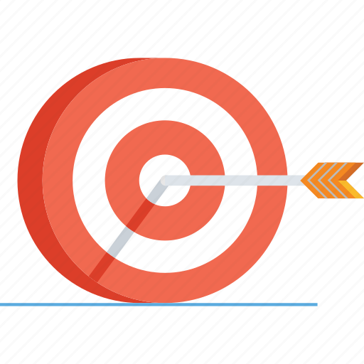 arrow, bullseye, business, dart, eye, goal, target icon