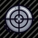 bullseye, goals, target, success