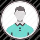 avatar, boy, businessman, face, man, person icon