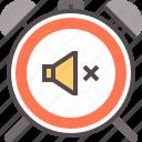 active, alarm, clock, deadline, mute, watch icon