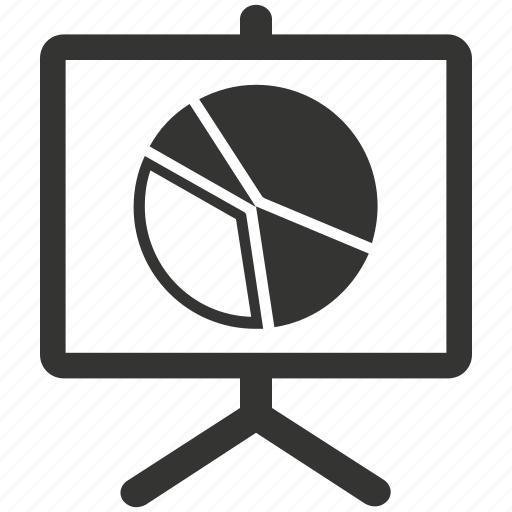analysis, analytics, blackboard, board, business, charts, circle graph icon