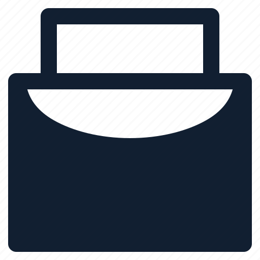 bag, business, chart, department, employe, page icon