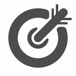 market, target, vision icon