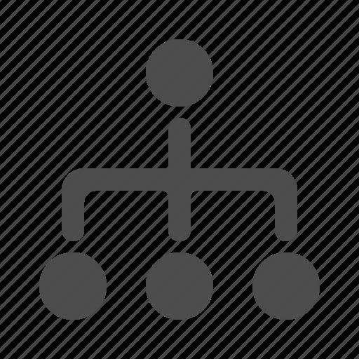 hierarchy, organization, team, teamwork icon