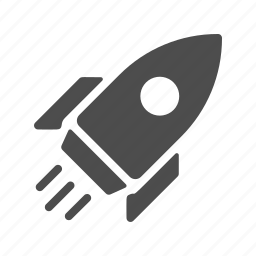 boost, launching, rocket, up icon