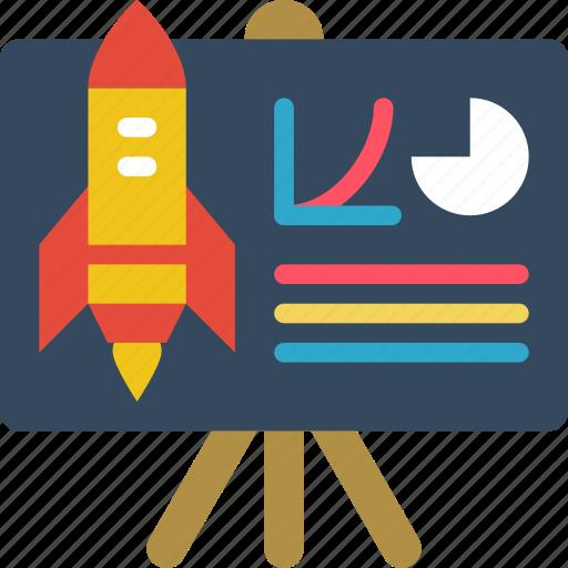 business, presentation, start, start up, startup icon