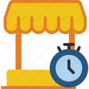 business, market, start, start up, startup, timing icon