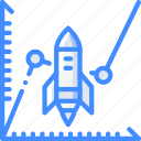 business, funds, increase, start, start up, startup icon