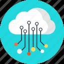 business, cloud, data, data storage, information, share, sharing, storage icon