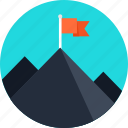 business, business goal, business target, flag, flags, gamings, goal, marketing, marketing goal, marketing target, mountain, online business, target icon