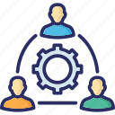 collaboration, group, management, team, teamwork