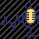 audio, mic, recording, speech, speech recognition