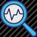 analytics, diagnostics, magnifier, optimization, seo