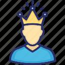 crown, esteem, leadership, self, self affirmation