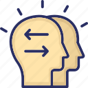 harmony, head, mind, psychology, relationship
