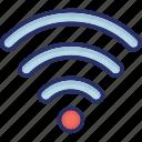 signals, wifi, wireless, wireless fidelity, wireless internet icon