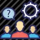 cogwheel, decision management, gear, resolution, resolve