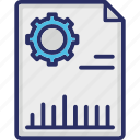 business report, document, graph, papers, report