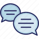 chat bubbles, chat room, chatting, forum, messenger