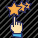 bonus, gesture, loyalty, premium, stars