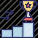 goals, mission, success, trophy, victory