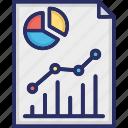 analytics, data, graph, report, statistical interface