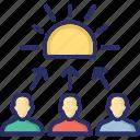 collaboration solving, group, problem solving, solution, team